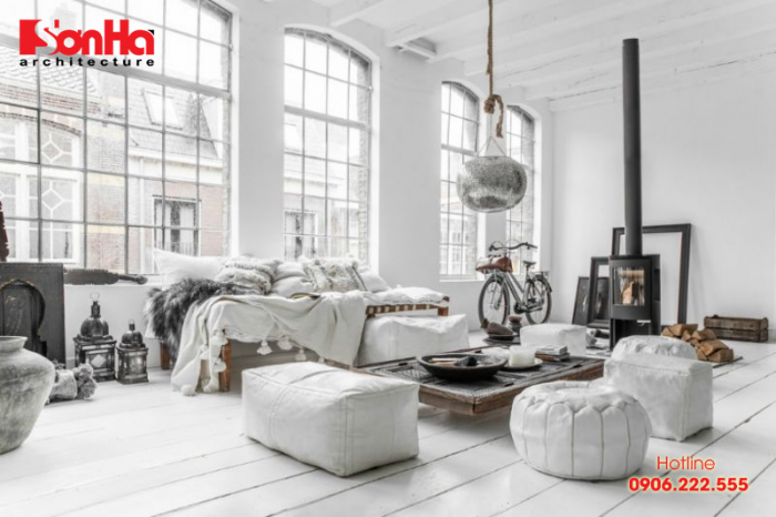 Thiết kế nội thất phòng ngủ phong cách Bắc Âu rất lạ mắt
