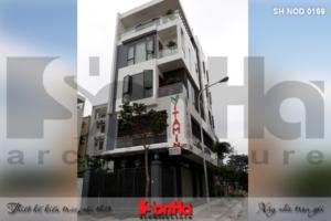 Thiết kế và thi công trọn gói nhà phố hiện đại 5 tầng tại Hải Phòng 27