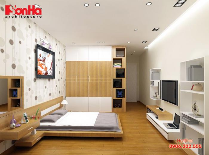 Trang trí bức ảnh kỷ niệm tạo các mẫu phòng ngủ đẹp phong cách hiện đại