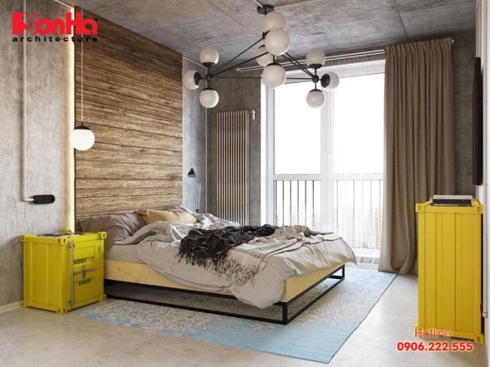 Trang trí tường phòng ngủ bằng màu sắc sinh động và trẻ trung