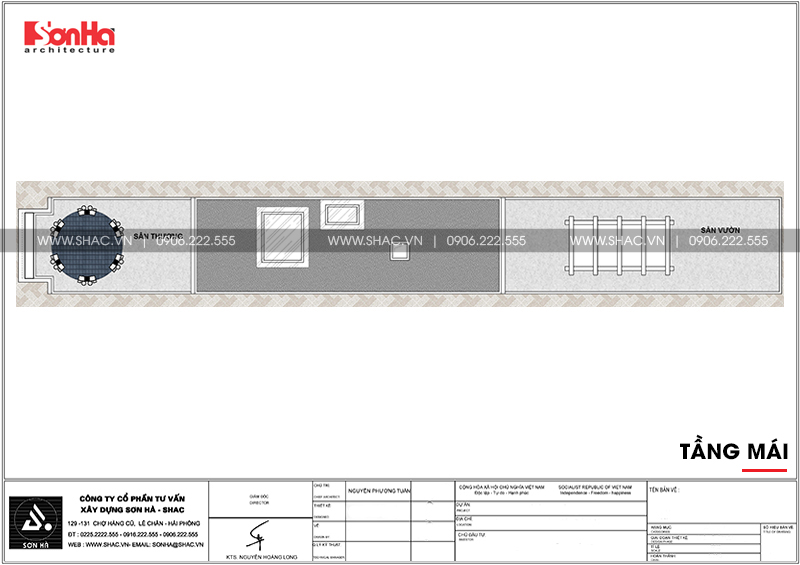 Mẫu thiết kế nhà ống cổ điển 5 tầng mặt tiền 4m8 tại Sài Gòn – SH NOP 0178 10