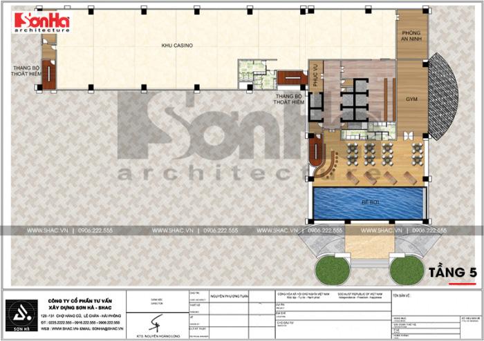 12 Mặt bằng công năng tầng 5 trung tâm phức hợp thương mại khách sạn 5 sao tại đồng tháp sh ks 0064