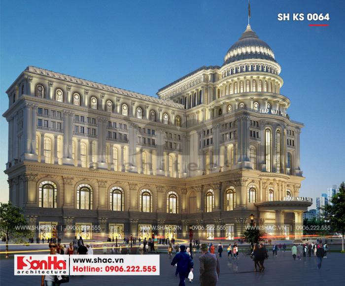 Thiết kế khách sạn tiêu chuẩn quốc tế 5 sao Thập Nhất Phong tại Đồng Tháp
