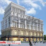 5 Thiết kế trung tâm phức hợp thương mại khách sạn 5 sao đẳng cấp tại đồng tháp sh ks 0064