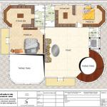 6 Mặt bằng công năng tầng 2 biệt thự tân cổ điển pháp tại hà nội sh btp 0129