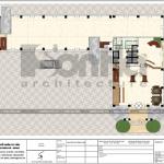 8 Mặt bằng công năng tầng 1 trung tâm phức hợp thương mại khách sạn 5 sao tại đồng tháp sh ks 0064