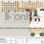 9 Mặt bằng công năng tầng 2 trung tâm phức hợp thương mại khách sạn 5 sao tại đồng tháp sh ks 0064