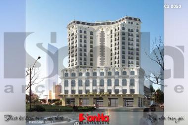 Mẫu thiết kế khách sạn tân cổ điển tiêu chuẩn 4 sao tại Quảng Ninh – SH KS 0050 1