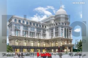 BÌA thiết kế trung tâm phức hợp thương mại khách sạn 5 sao tại đồng tháp sh ks 0064