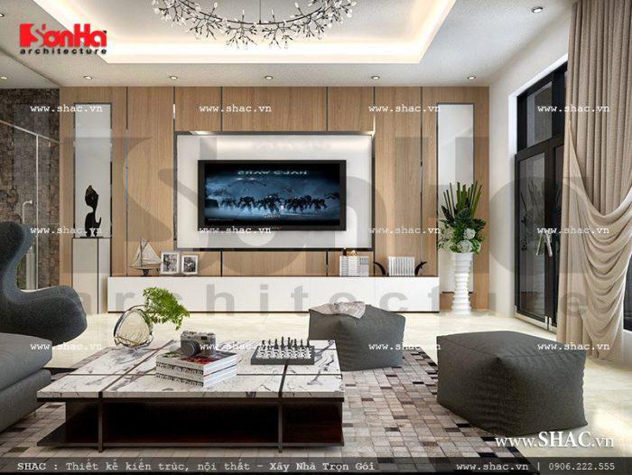 Cách tạo điểm nhấn trong thiết kế nội thất phòng khách hiện đại và cổ điển