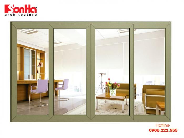 Cửa sổ là nơi đón ánh nắng giúp cho không khí được lưu thông