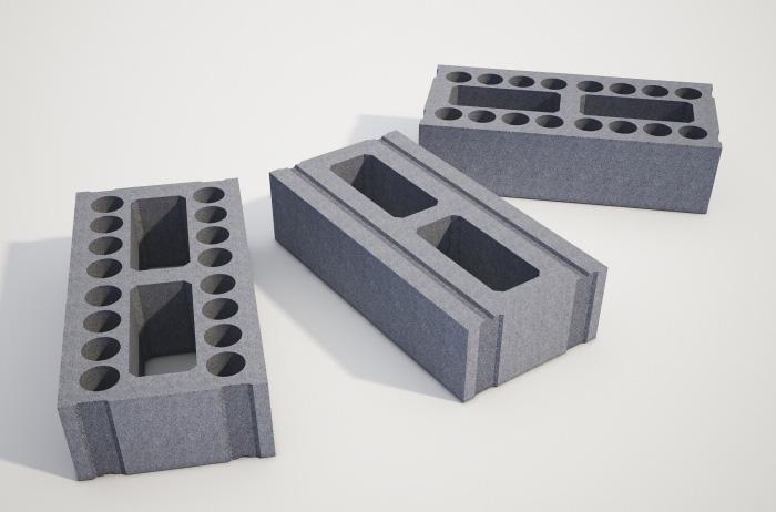 Gạch nhẹ chưng áp (hay còn gọi gạch AAC) áp dụng tốt để xây nhà