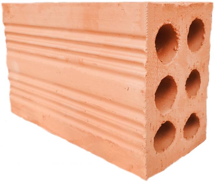 Gạch rỗng 6 lỗ thường xây tại những vị trí không chịu lực