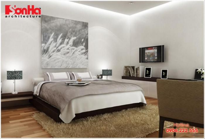 Mãn nhãn với mẫu phòng ngủ nhỏ xinh được trang trí gam màu trung tính