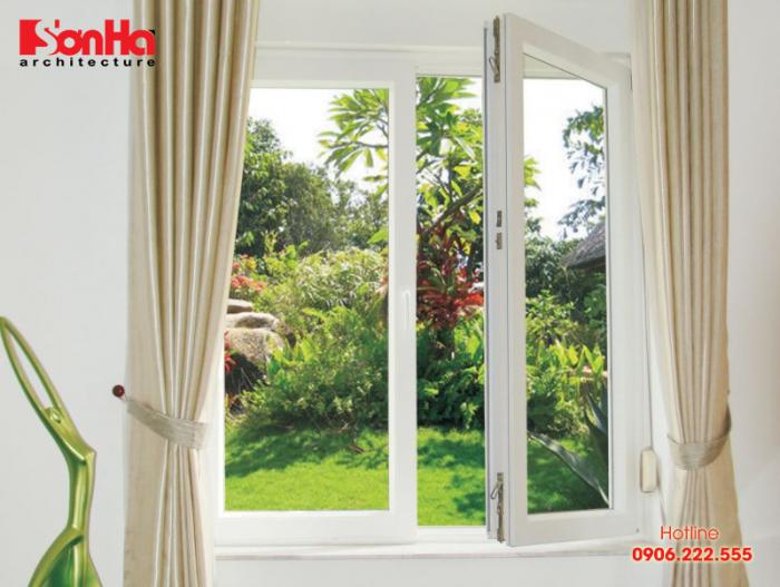 Mở cửa sổ phù hợp cũng là cách chống nóng hiệu quả cho ngôi nhà