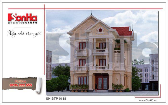 Phong cách thiết kế tân cổ điển là sự kết tinh kiến trúc hiện đại và cổ điển