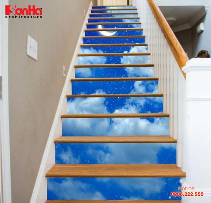 Phương án thiết kế cầu thang với trang trí lạ mắt và ấn tượng