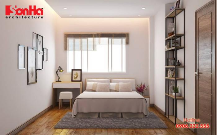 Thêm một cách trang trí nội thất phòng ngủ diện tích nhỏ hẹp