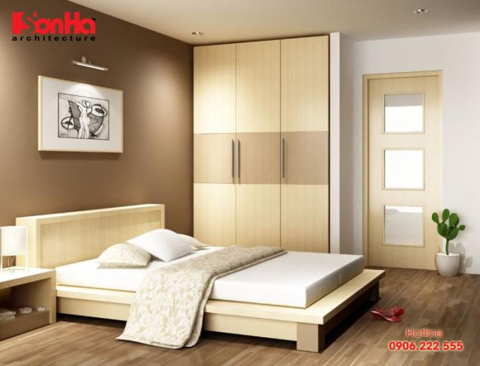 Thiết kế phòng ngủ ngăn nắp và thoải máu đó chính là chất xúc tác của thăng hoa