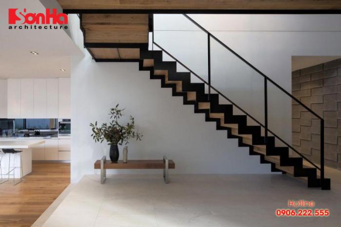 Xu hướng thiết kế cầu thang giản tiện lên ngôi cho biệt thự nhà đẹp