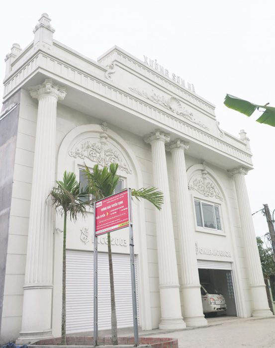 Xưởng nội thất gỗ Sơn Hà 2018