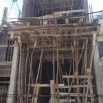 1 Ảnh thực tế thi công nhà ống hiện đại 4 tầng tại hải phòng sh nod 0191