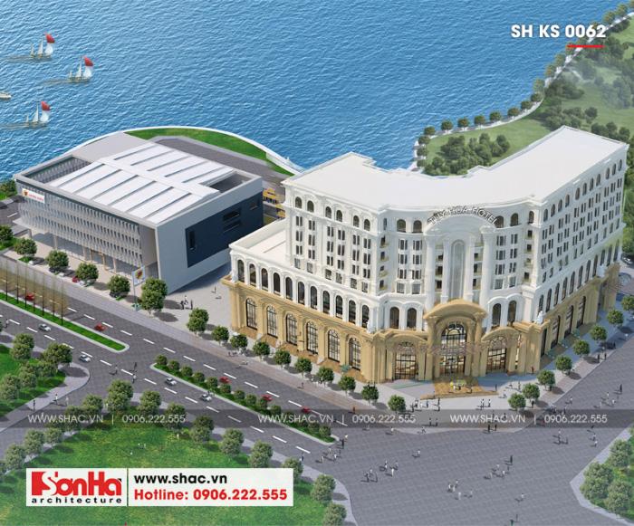 1 Mẫu thiết kế tổ hợp khách sạn 5 sao tại phú quốc sh ks 0062