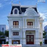 1 Thiết kế biệt thự tân cổ điển 2 mặt tiền đẹp tại sài gòn sh btp 0130