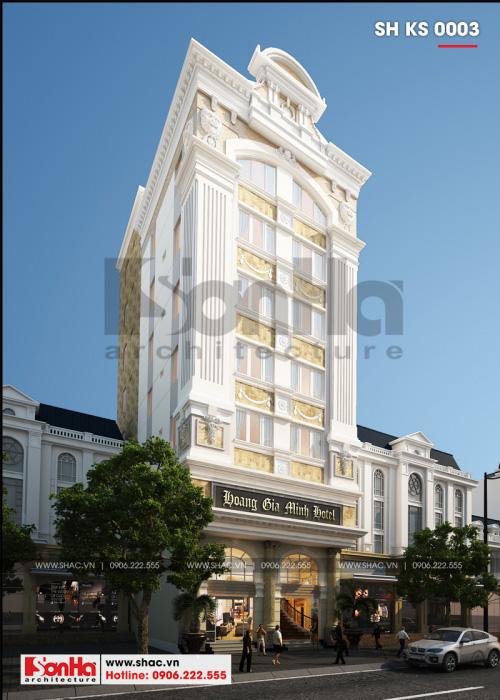 1 Thiết kế khách sạn 3 sao tại hải phòng sh ks 0003