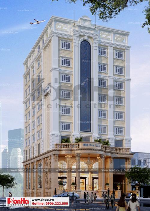 1 Thiết kế khách sạn 3 sao tại quảng ninh