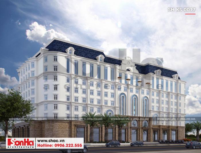 1 Thiết kế khách sạn 3 sao tại thanh hóa sh ks 0017