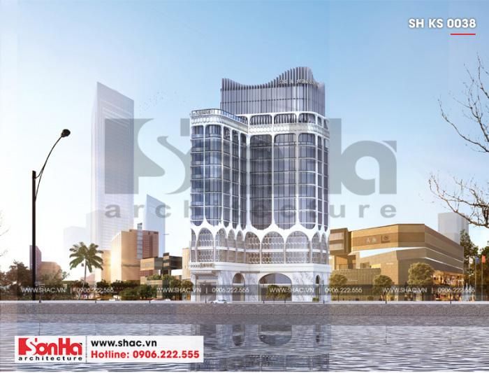 1 Thiết kế khách sạn 4 sao đẹp tại đà nẵng