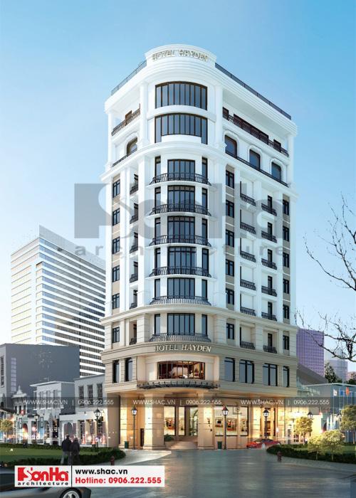1 Thiết kế khách sạn 4 sao đẹp tại đà nẵng sh ks 0059