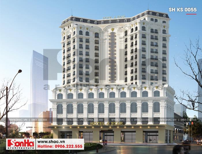 1 Thiết kế khách sạn 4 sao đẹp tại quảng ninh sh ks 0050