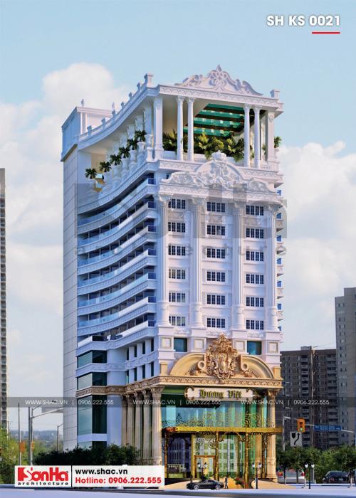 1 Thiết kế khách sạn 4 sao tại bình định sh ks 0021