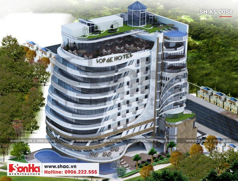 Thiết kế khách sạn hiện đại 5 sao