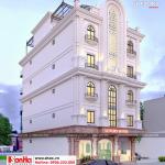 1 Thiết kế khách sạn mini tân cổ điển tại phú thọ sh ks 0065