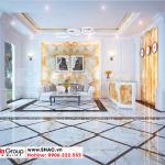 1 Thiết kế nội thất sảnh lễ tân khách sạn mini tại phú thọ sh ks 0065
