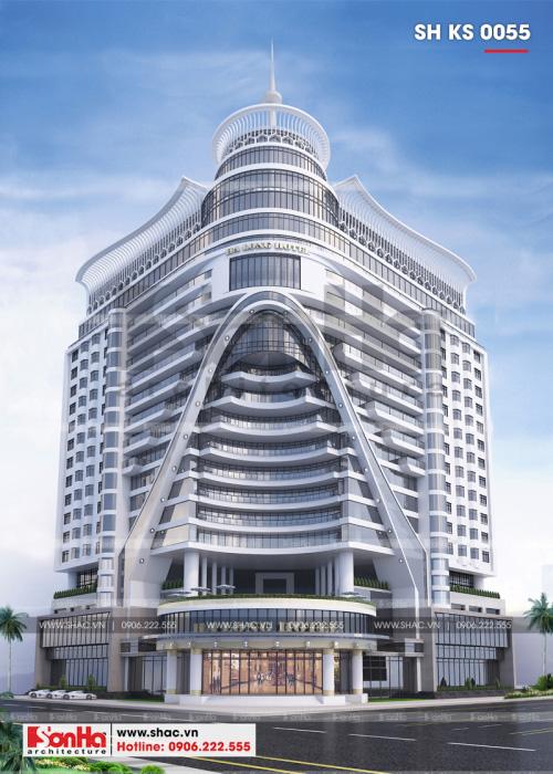 1 Thiết kế phương án 1 khách sạn 5 sao tại hạ long sh ks 0055