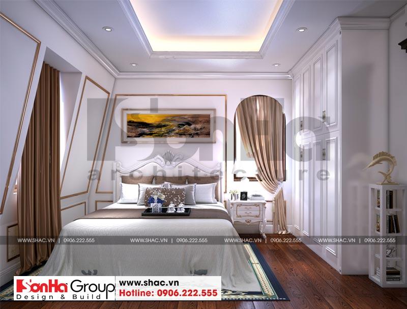 Biệt thự tân cổ điển 3 tầng 2 mặt tiền diện tích 11,9x15,5m tại Sài Gòn - SH BTP 0130 16