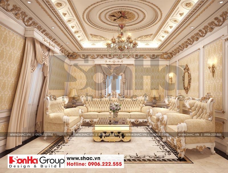 Biệt thự tân cổ điển 3 tầng 2 mặt tiền diện tích 11,9x15,5m tại Sài Gòn - SH BTP 0130 19