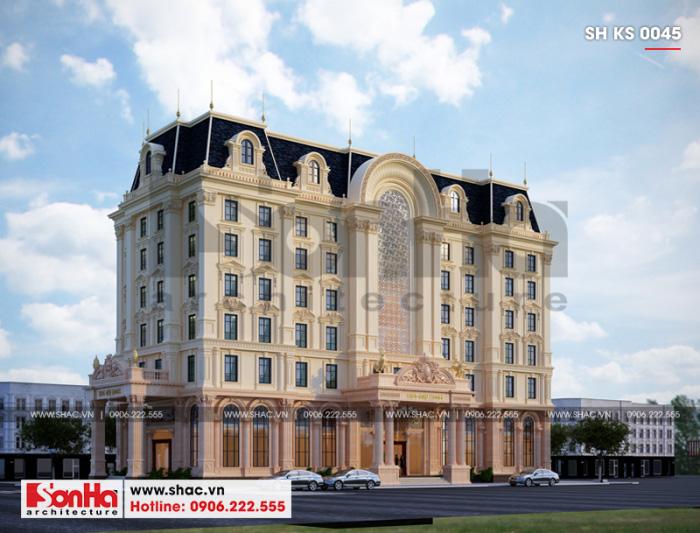 2 Mẫu khách sạn 3 sao đẹp tại phú quốc sh ks 0045
