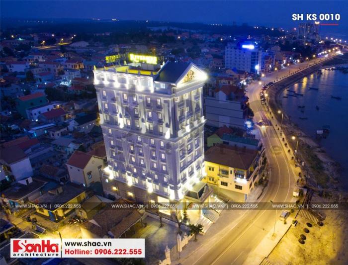 2 Mẫu thiết kế khách sạn 4 sao tại quảng bình sh ks 0010
