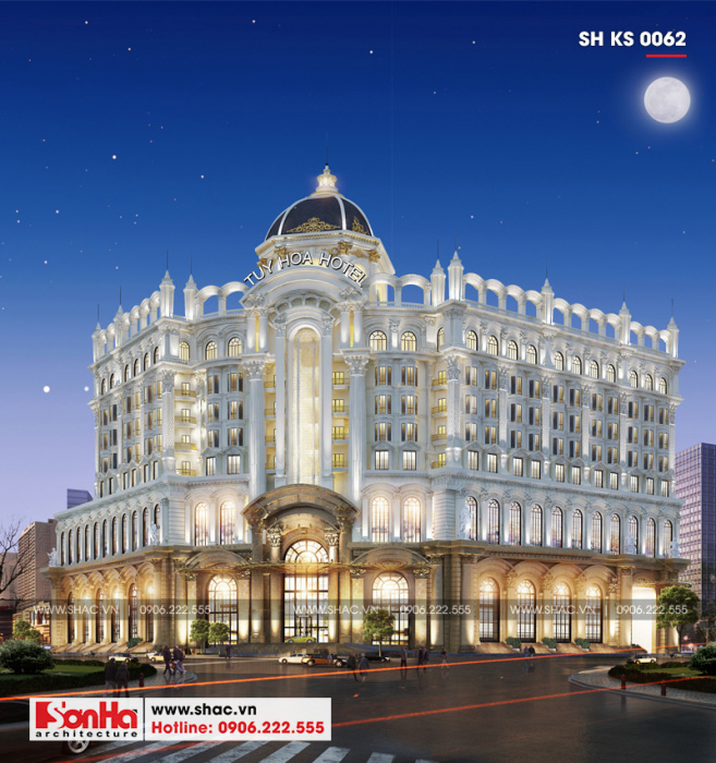 2 Mẫu thiết kế khách sạn 5 sao tại phú yên sh ks 0062