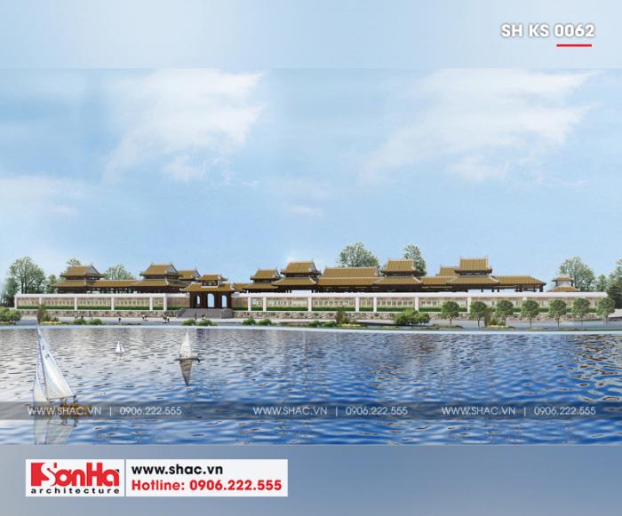 3 Mẫu Thiết kế khu cafe tổ hợp khách sạn 5 sao tại phú yên sh ks 0062