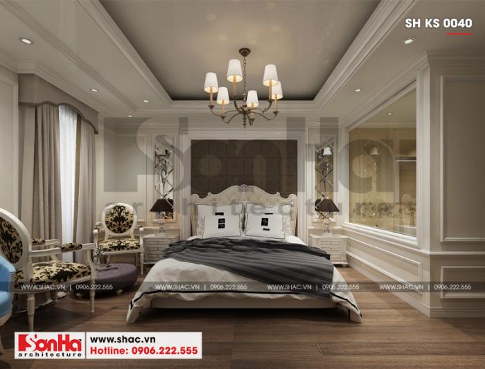 3 Thiết kế nội thất phòng ngủ đơn khách sạn 3 sao tại vĩnh phúc sh ks 0040
