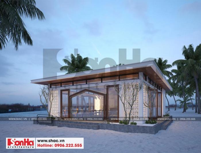 3 Thiết kế quầy bar resort chuồn chuồn tại phú quốc