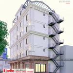 4 Mẫu khách sạn mini 5 tầng tại phú thọ sh ks 0065