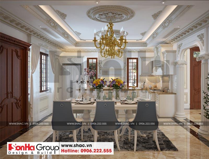 Biệt thự tân cổ điển 3 tầng 2 mặt tiền diện tích 11,9x15,5m tại Sài Gòn - SH BTP 0130 10