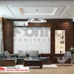 4 Mẫu nội thất phòng khách tầng 2 nhà phố liền kề khu đô thị waterfront hải phòng sh wfc 0003